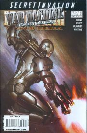 Iron Man Director Of SHIELD #35 (2008) Secret Invasion War Machine Marvel comic book